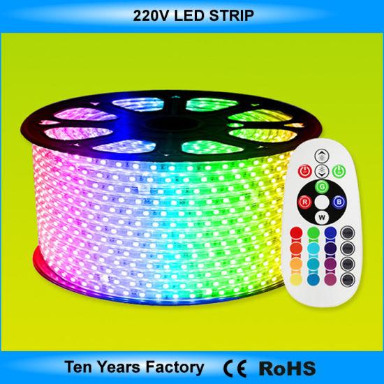 new styles cdf0f df96a China High Quality SMD 5050 RGB LED Strip Lights 220V ...