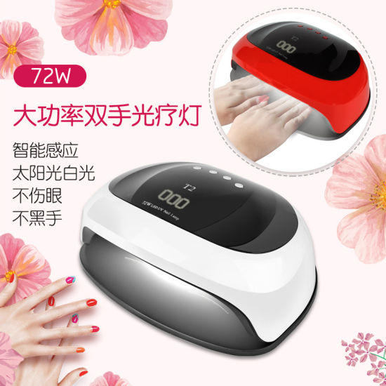 Professional 72W UV LED Lamp Nail Dryer Cure Nail Polish pictures & photos