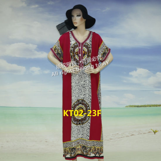 New Flower New Design Summer African Traditional Long Dresses