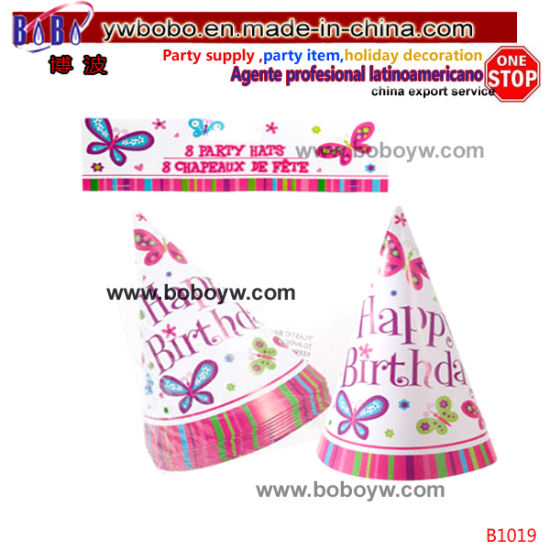 Wedding Birthday Party Decoration Party Favor Birthday Party Supply Party Hats (B1019)