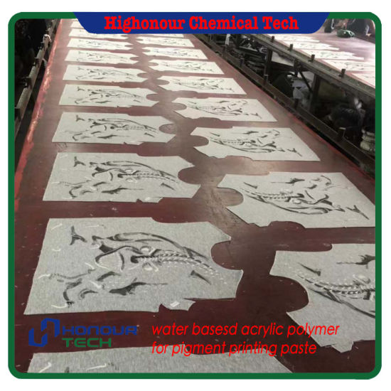 Screen Rubber Print White Paste Polymer for Indian Market