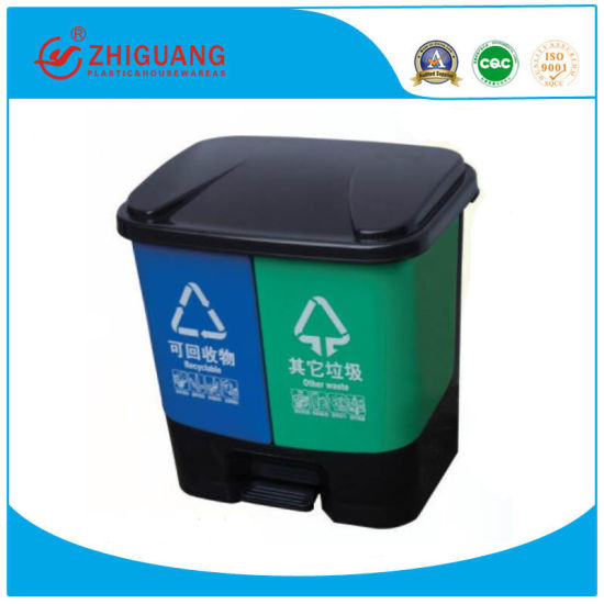 Plastic Trash Can, Plastic Garbage Bin, Types of Plastic Waste Bin