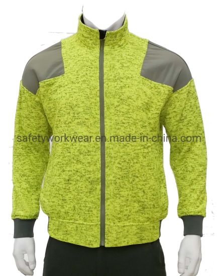 Fty Supply Melange Winter Warm Clothing Men Fleece Jackets