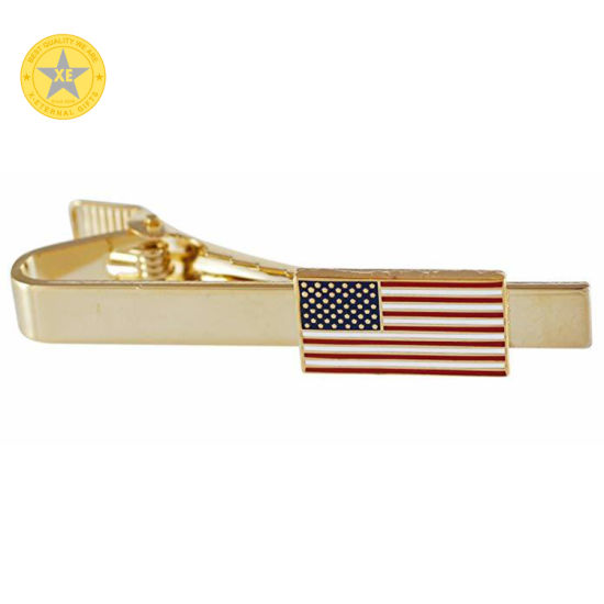 Elegant Badge with Tie Bar with Color Infilled No Minimum