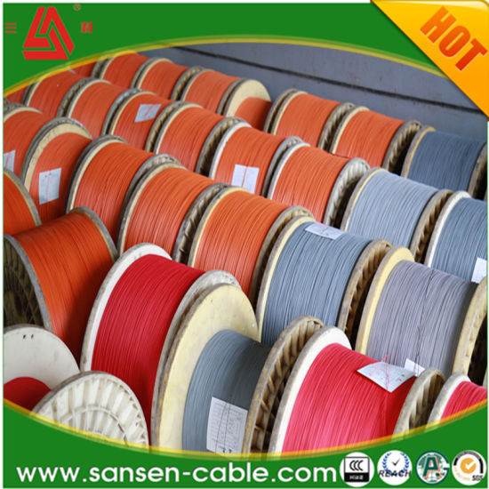 Ce Certified 450/750V Single Core Flexible XLPE Cable H07V-R Copper Cable pictures & photos