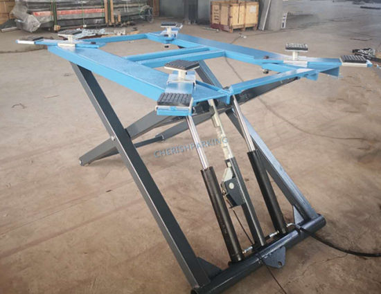 Factory Direct Supply 2700kgs Portable and Movable Scissor Car Lift