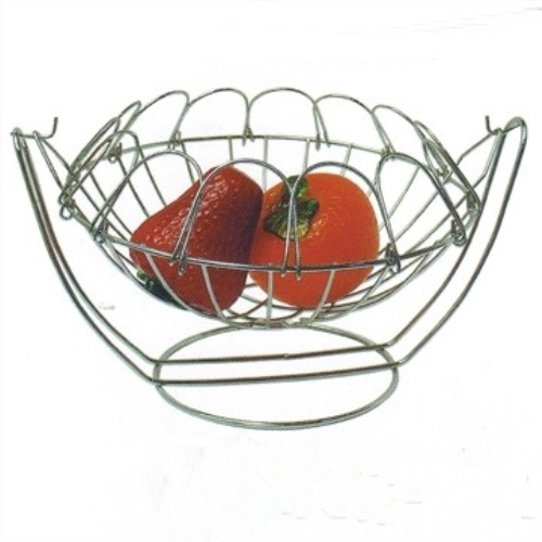 Stainless Steel Wire Mesh Fruit Basket for Storage pictures & photos