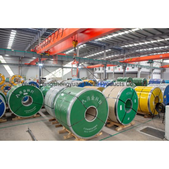 Cold Rolled AISI SUS 201 304 316L 310S 409L 420 420j1 420j2 430 431 434 436L 439 441 Stainless Steel Coil with High Quality Factory Price