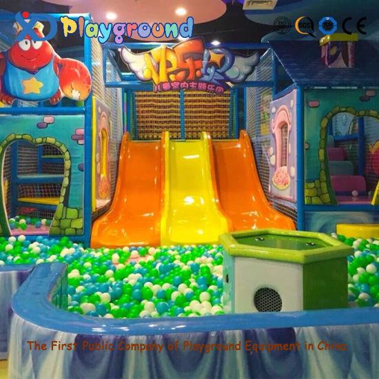 China Plastic Indoor Children Playground for Home Indoor Soft ...
