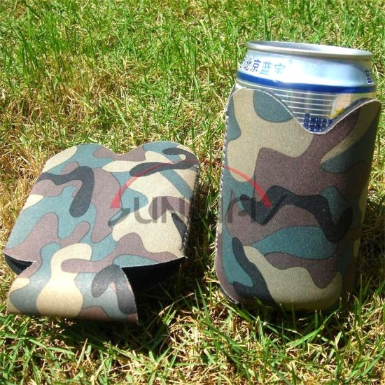 Wholesale Collapsible Neoprene Beer Drink Beverage Can Stubbie Stubby Cooler (BC0040)