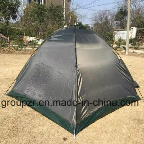Double Layer Camping Tent for 3-4persons pictures & photos