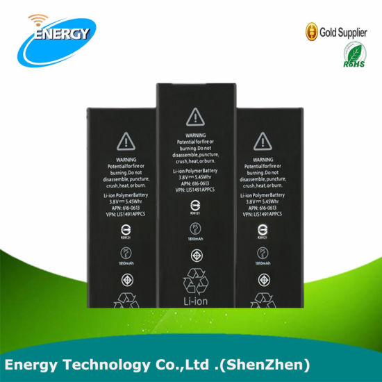 AAA Quality Mobile Phone Accessories Original Battery for iPhone 7/7 Plus Replacement Rechargeable