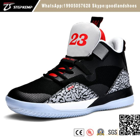 Professional Sports Basketball Shoes New Sneakers High Top Basketball Shoes for Men 6043