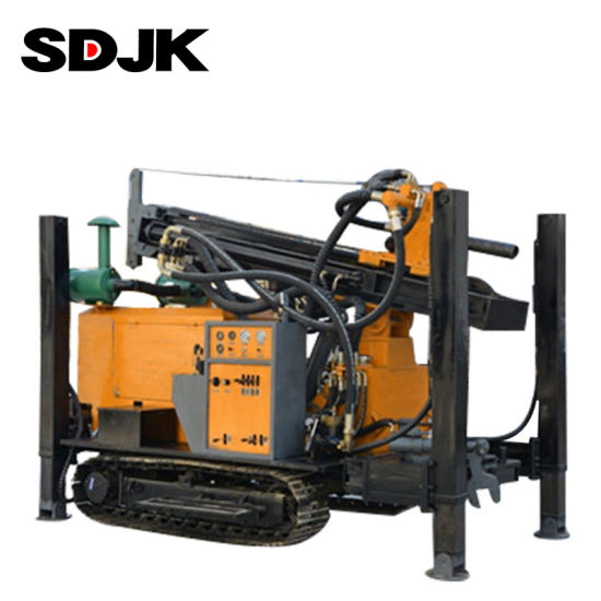 Wholesale 200m Hydraulic Water Well Rotary Drilling Rig Machine