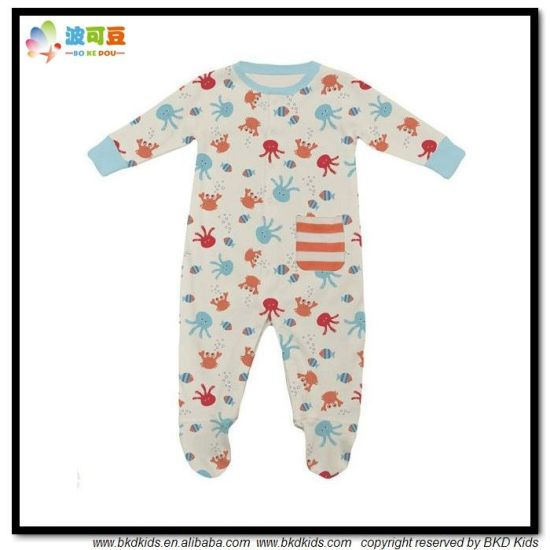 All-Over Printing Baby Garment Unisex Babies Jumpsuits