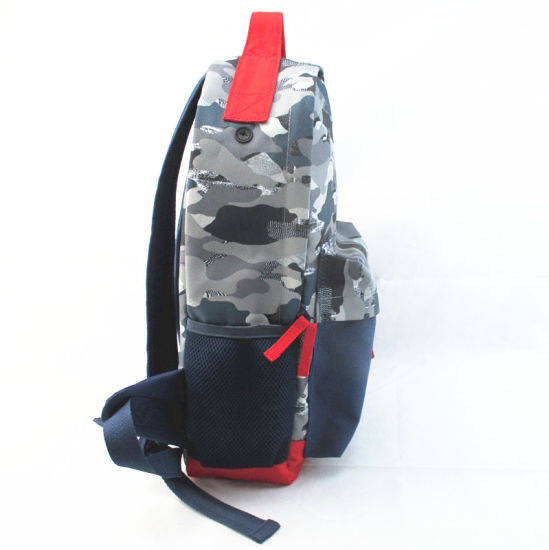 Contrast Color Camo Print Backpack pictures & photos
