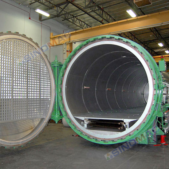 2500X6000mm CE Approved Safety Fiberglass Autoclave (SN-CGF2560) pictures & photos