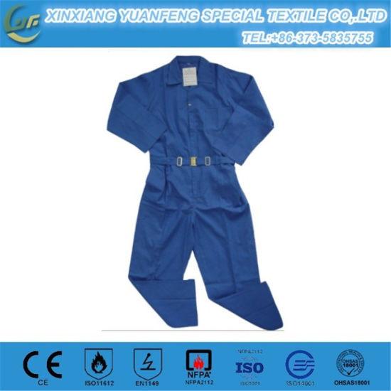 China Flame Retardant Safety Used Fr Work Bib Pants - China