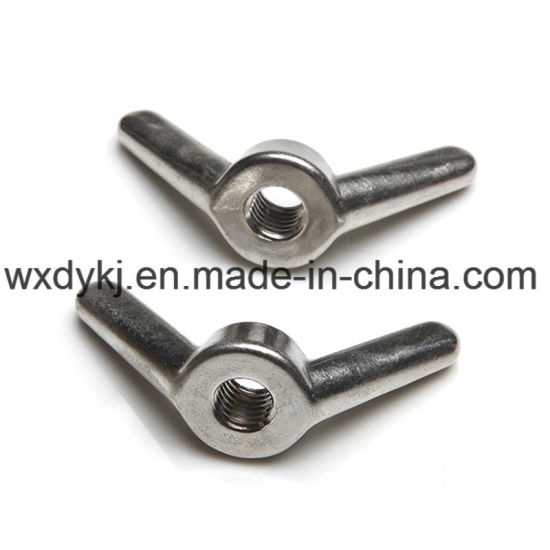 DIN 314 Stainless Steel 316 Wing Nut pictures & photos