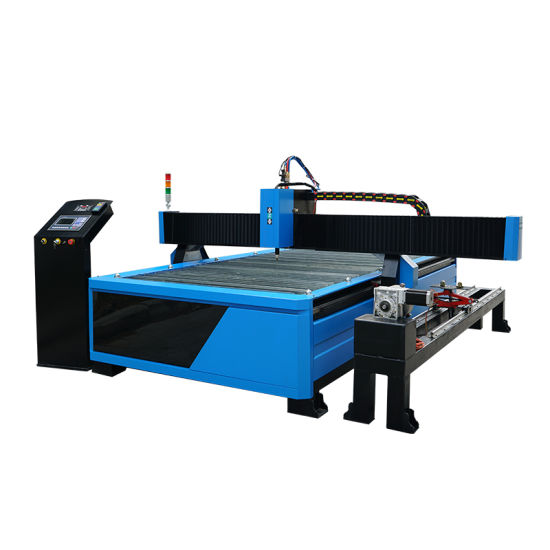 1530 Gantry Carbon Steel Metal Plasma CNC Cutting Machine Price with Rotary Device