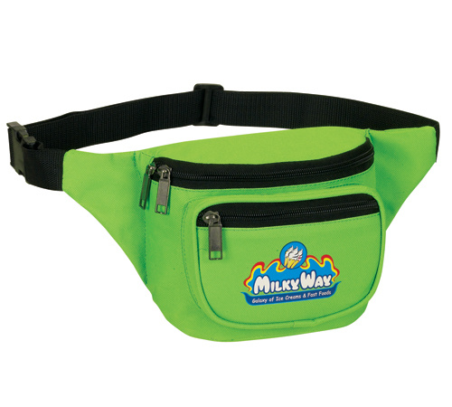 Custom Fanny Pack 600d Oxford Running Waist Bag for Cash and Phone