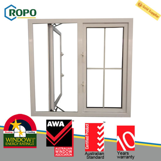 China 2016 Latest Pvc Windows And Door Grill Design Upvc Double