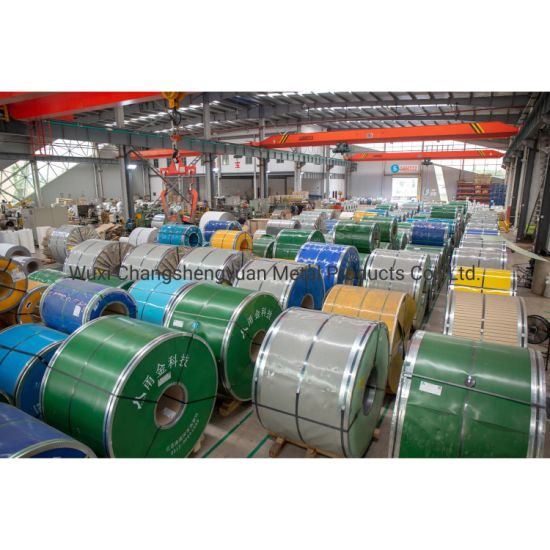 Cold Rolled AISI Ss 201 304 316L 310S 409L 420 420j1 420j2 430 431 434 436L 439 Stainless Steel Coil with High Quality Factory Price