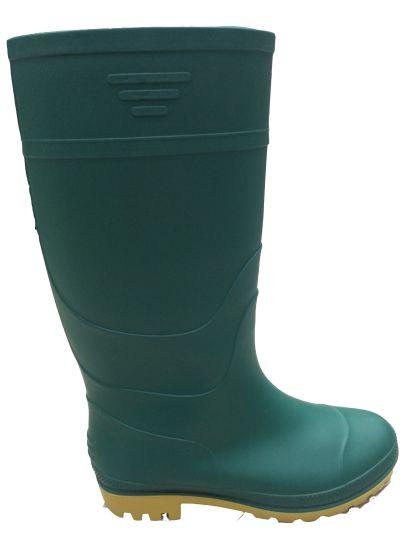 f5242717a455 China High Quality PVC Rain Boots (Blackish green upper/Yellow ...