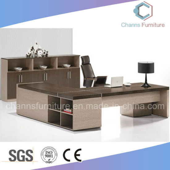 Modern 1.8m Manager Melamine Office Table with Mobile Pedestal pictures & photos