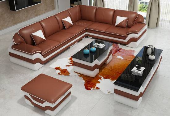 Design Corner L Shaped Sofa Set Luxury
