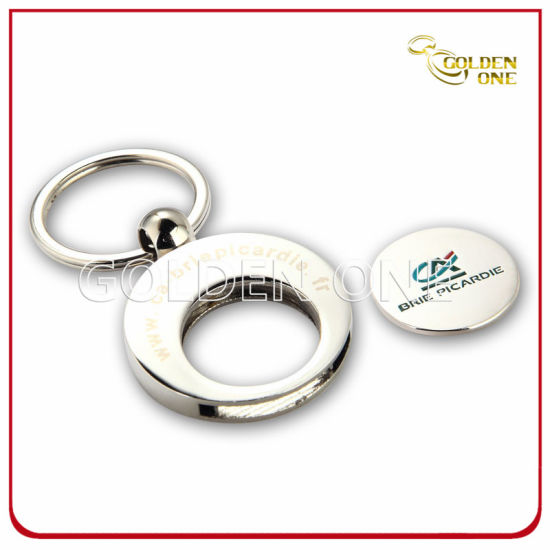 Customized Shopping Cart Metal Trolley Coin Holder Key Chain pictures & photos