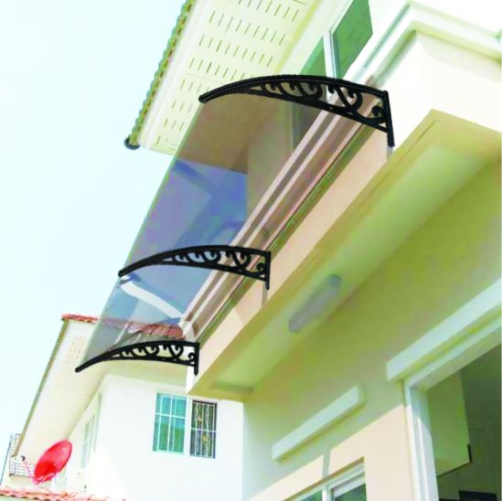 Household Creative Design Waterproof Stainless Steel Awning pictures & photos