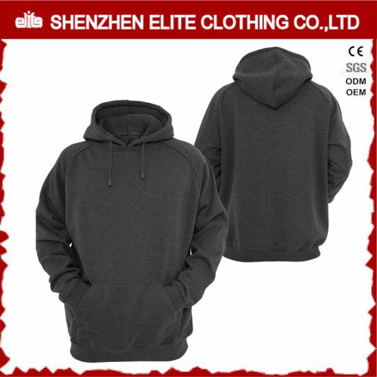 c1482433e Top Selling Good Quality Dark Grey Custom Hoodies Oversize (ELTHI-33)  pictures &