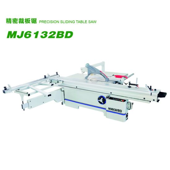 Woodworking Automatic Mj6132bd Sliding Table Saw