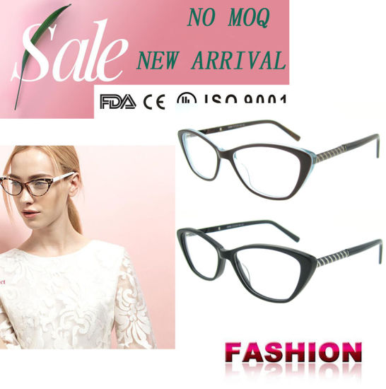 4c5f1d4675d Fashion Eyewear China Wholesale Acetate Optical Frames with Ce and ...