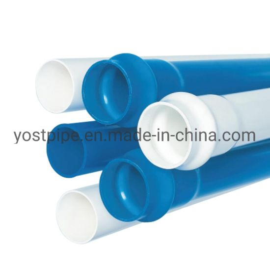 Factory Outlet Black Plastic Rounded Tube 125mm PVC Pipe/Tube for Any Size