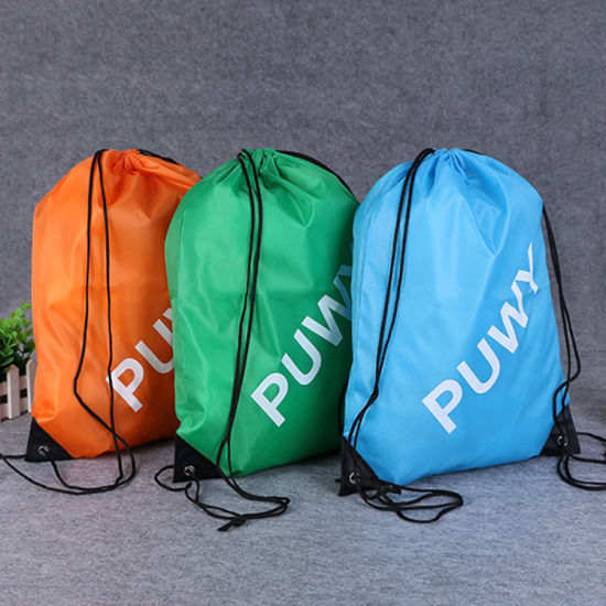 Wholesale Promotional Shopping Bag Pouch pictures & photos