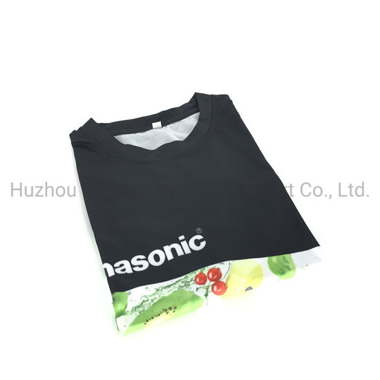Custom Sublimation Printed 100% Polyester Quick Dry Mens Casual Shirt