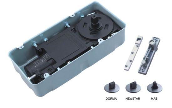 China 7300 Machine Glass Door Hinges Hydraulic Floor Spring China