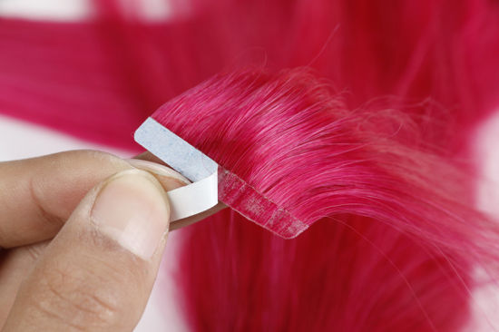 Wholesale Brazilian Human Hair Tape Hair Extension Silky 18 Inches