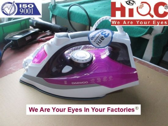 Steam Iron Inspection Service/Quality Control pictures & photos