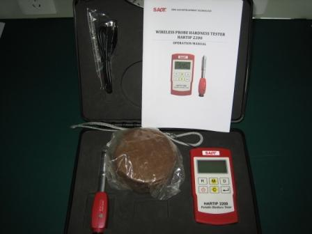 Hartip2200 Digital Metal Durometer (hardness tester) with Wireless Probe D pictures & photos