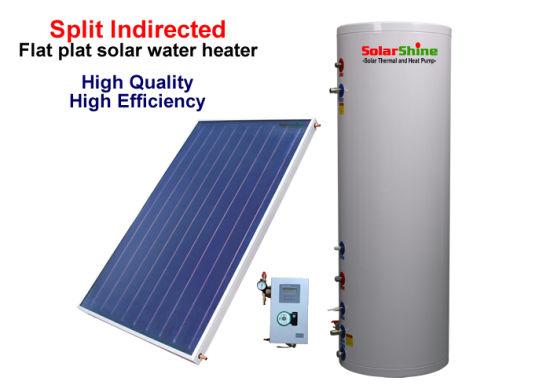 Energy Saving Split Solar Water Heater Sp-150-500L with Declining Roof Bracket