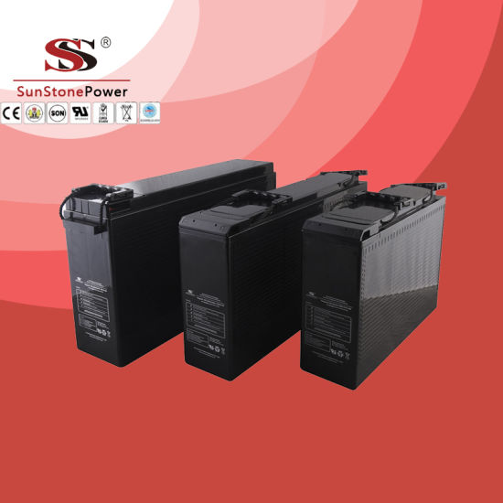 Good Quality Telecom Battery Front Access Terminal Battery Communication Battery Vg12-90 (12V90ah)
