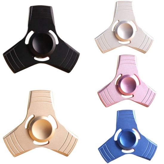 2017 Newest Release Stress Fidget Toys Brass/ Aluminum Finger Spinner pictures & photos