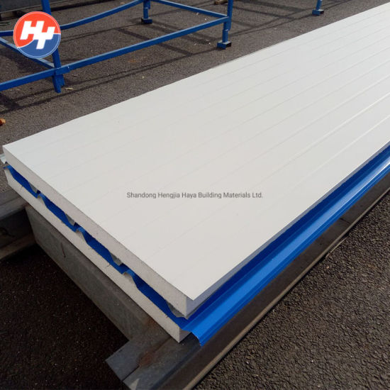 China Metal Glass Wool Sandwich Panel Wall Panel for Modular