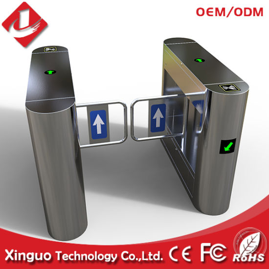 China Supermarket Emergency Access Swing Barrier Gate - China High
