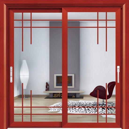 China Aluminum Frame Unbreakable Glass Door Conference Room Door