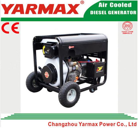 Yarmax 6kw 6000W Portable Canopy Silent Diesel Welding Generator  sc 1 st  Yarmax Power (Changzhou) Co. Ltd. & China Yarmax 6kw 6000W Portable Canopy Silent Diesel Welding ...