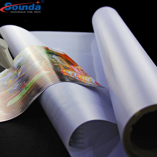 Hot Sale PVC Flex Banner Backlit Hot Laminated with High Quality